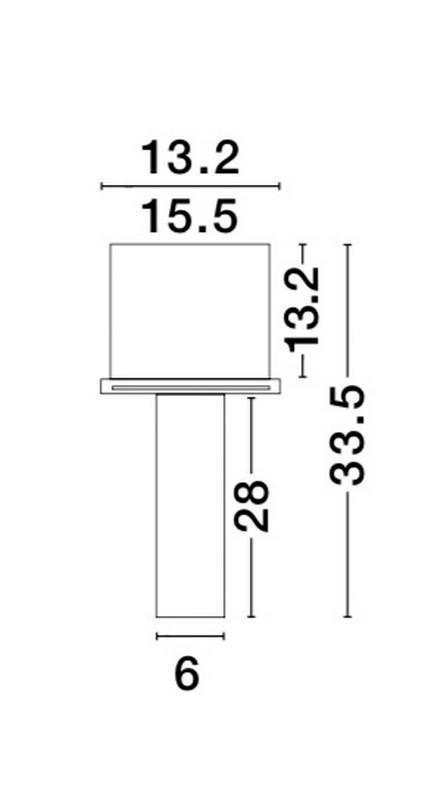 Nova Luce NL-51855202 Giacomo beépíthetõ lámpa