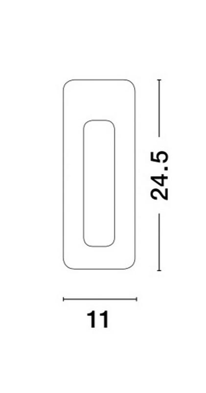 Nova Luce NL-5600601 Cirocco beépíthetõ lámpa