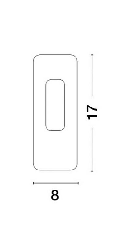 Nova Luce NL-66018101 Cirocco beépíthetõ lámpa