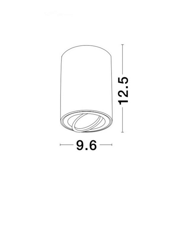 Nova Luce NL-820001 Gozzano mennyezeti lámpa