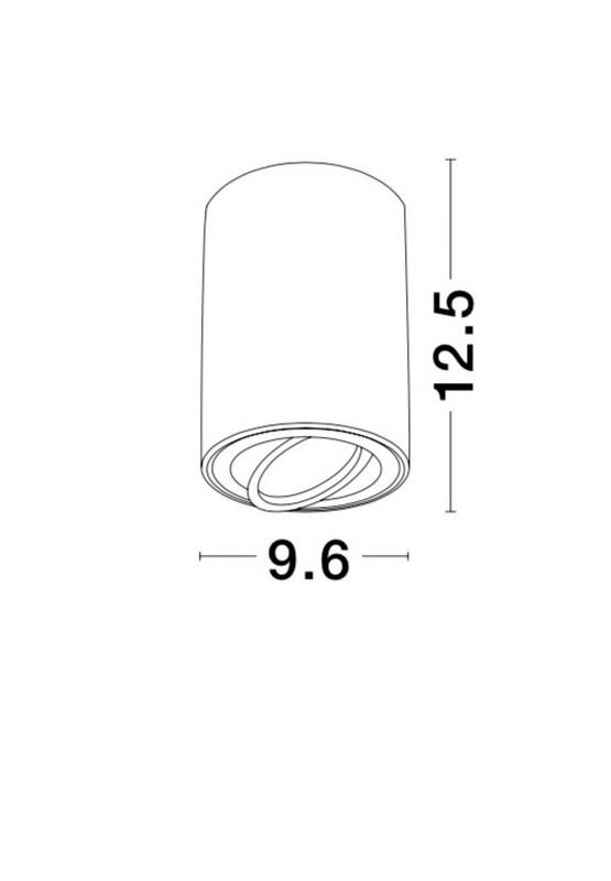 Nova Luce NL-820002 Gozzano mennyezeti lámpa