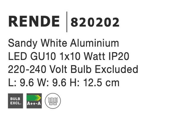 Nova Luce NL-820202 Rende mennyezeti lámpa
