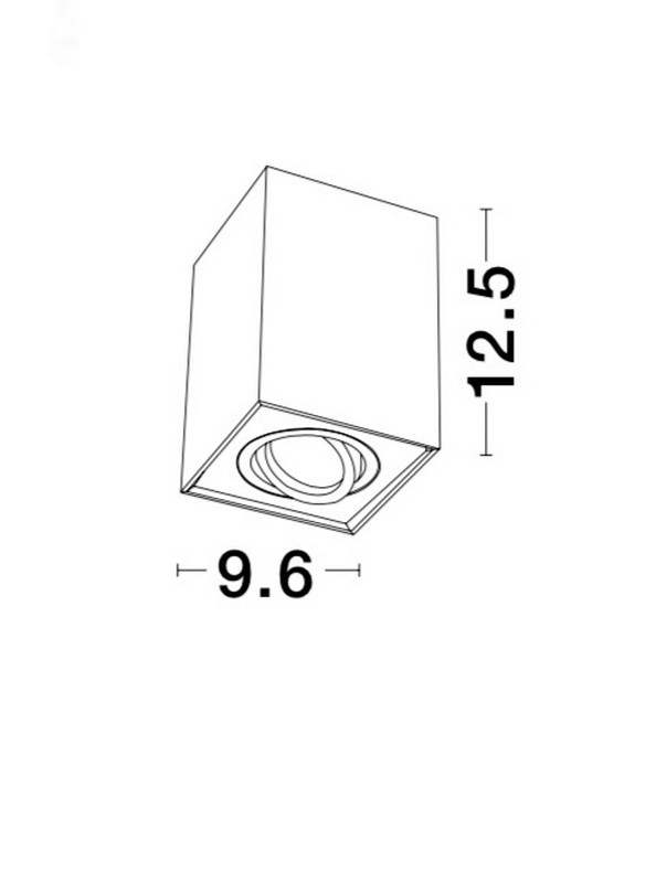 Nova Luce NL-820203 Rende mennyezeti lámpa