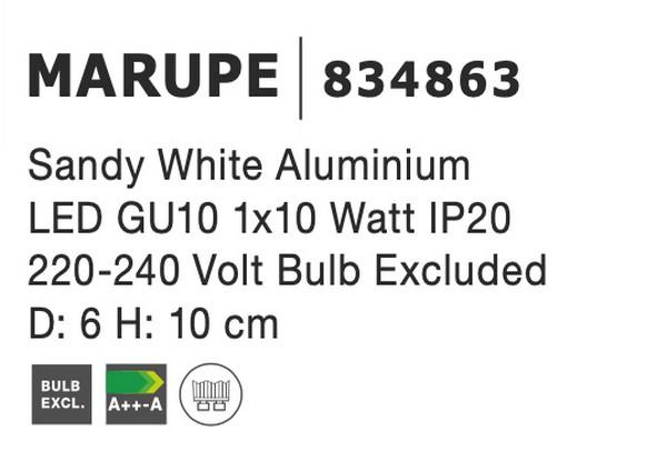 Nova Luce NL-834863 Marupe mennyezeti lámpa