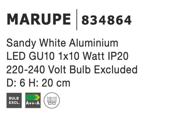 Nova Luce NL-834864 Marupe mennyezeti lámpa
