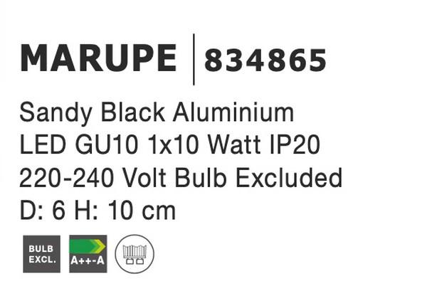 Nova Luce NL-834865 Marupe mennyezeti lámpa