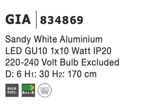 Nova Luce NL-834869 Gia függeszték