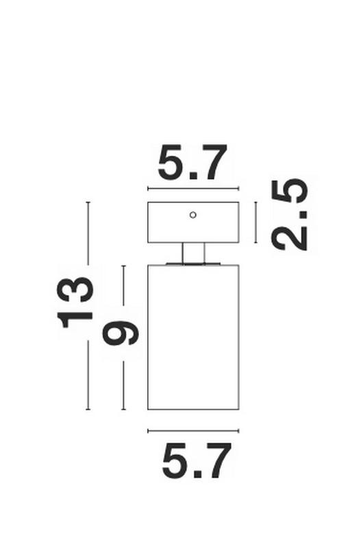 Nova Luce NL-9011311 Tod spotlámpa