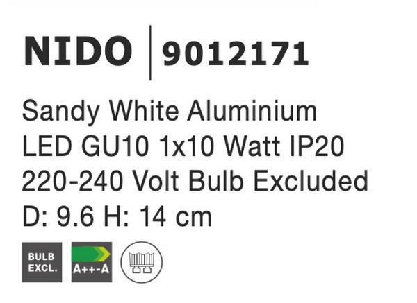 Nova Luce NL-9012171 Nido spotlámpa