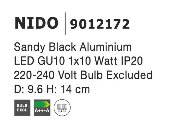 Nova Luce NL-9012172 Nido spotlámpa