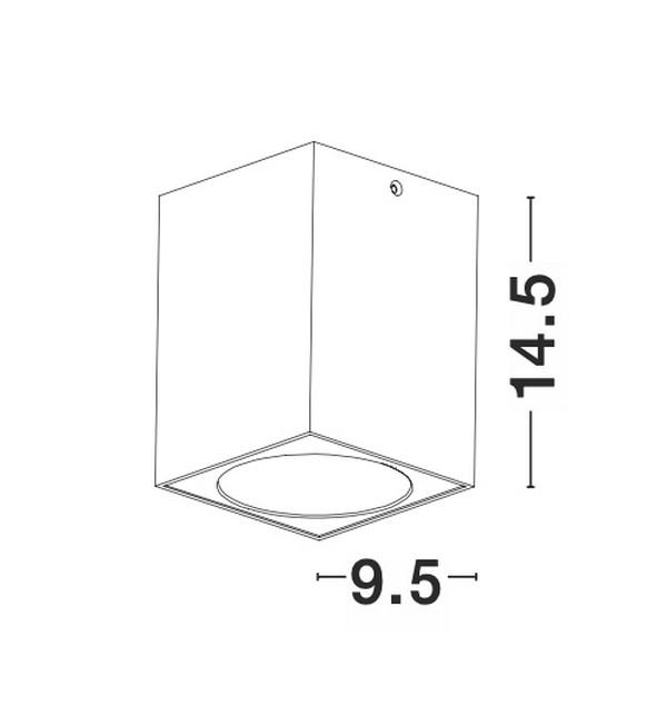 Nova Luce NL-9012182 Nido spotlámpa