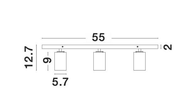 Nova Luce NL-9012302 Tod spotlámpa