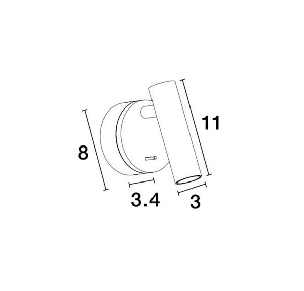 Nova Luce NL-9030202 Clip falikar