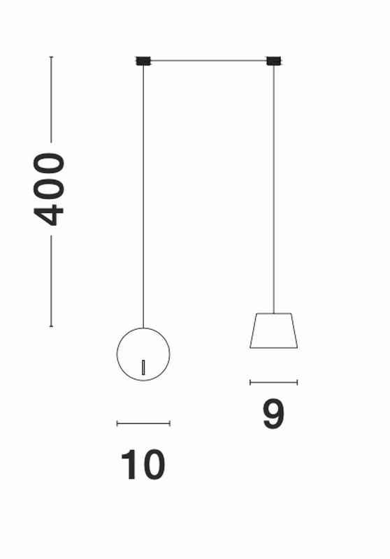 Nova Luce NL-9118106 Amadeo LED függesztett lámpa