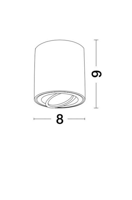 Nova Luce NL-9174512 Gozzano mennyezeti lámpa