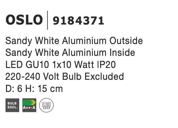 Nova Luce NL-9184371 Oslo mennyezeti lámpa