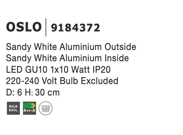 Nova Luce NL-9184372 Oslo mennyezeti lámpa