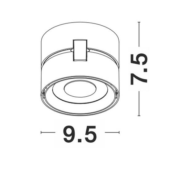 Nova Luce NL-92001 Universal LED spotlámpa
