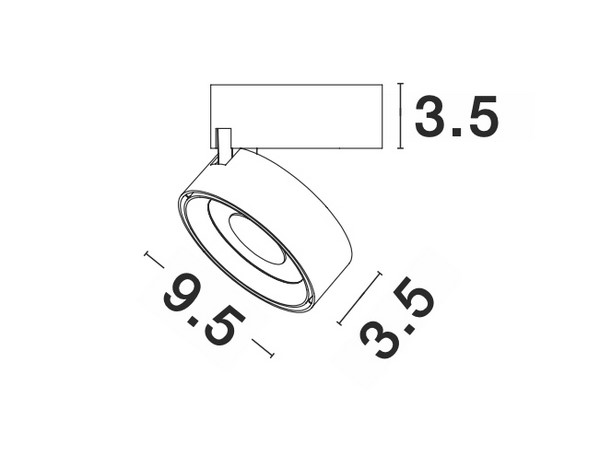 Nova Luce NL-92002 Universal LED spotlámpa