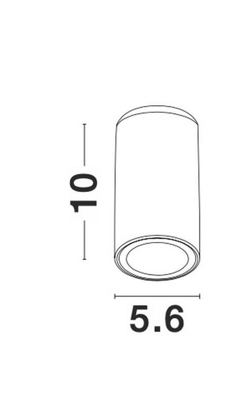 Nova Luce NL-9418425 Gener spotlámpa
