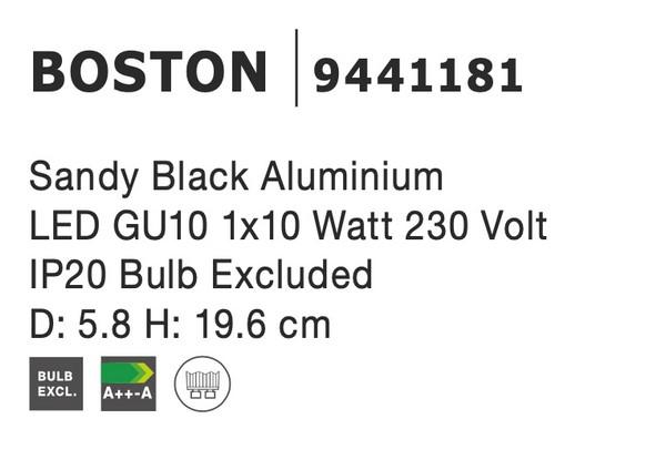 Nova Luce NL-9441181 Boston spotlámpa