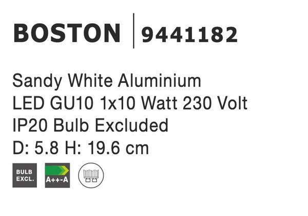 Nova Luce NL-9441182 Boston spotlámpa