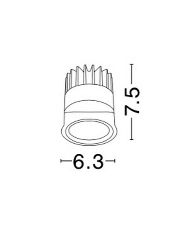 Nova Luce NL-9700301 Maggy LED fényforrás