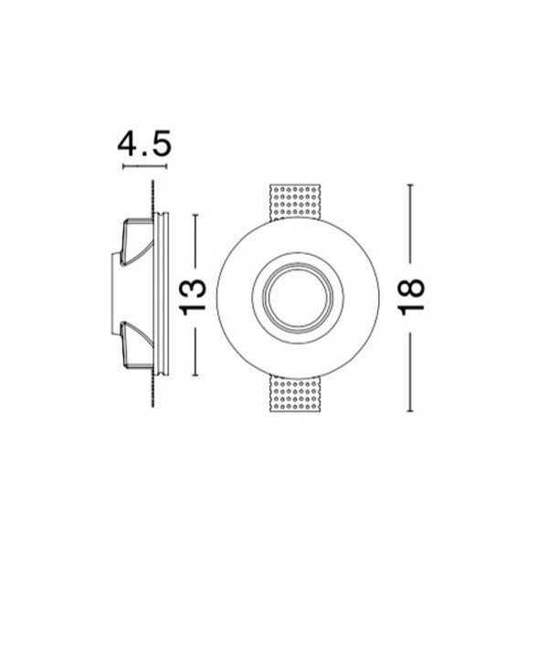 Nova Luce NL-9879103 Cosimo beépíthetõ lámpa