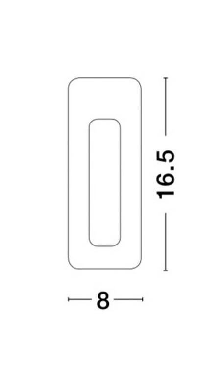 Nova Luce NL-9879388 Eurona beépíthetõ lámpa