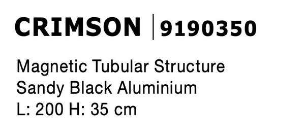Nova Luce NL-9190350 Decorative Crimson függesztett sínelem
