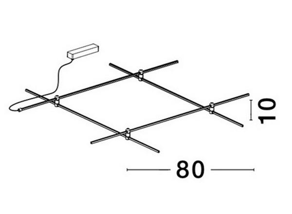 Nova Luce NL-9180565 Decorative Puzzle sín szerkezet