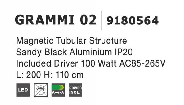 Nova Luce NL-9180564 Decorative Grammi függesztett sín szerkezet