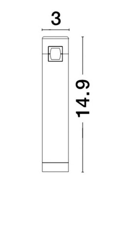 Nova Luce NL-9180561 Decorative Bar sínrendszeres lámpafej