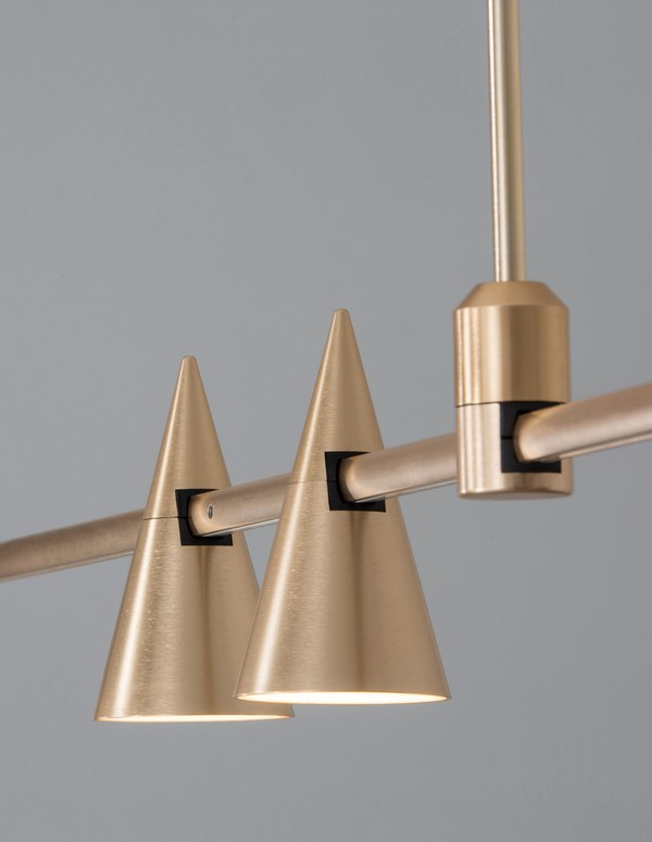 Nova Luce NL-9090286 Decorative Cono sínrendszeres lámpafej
