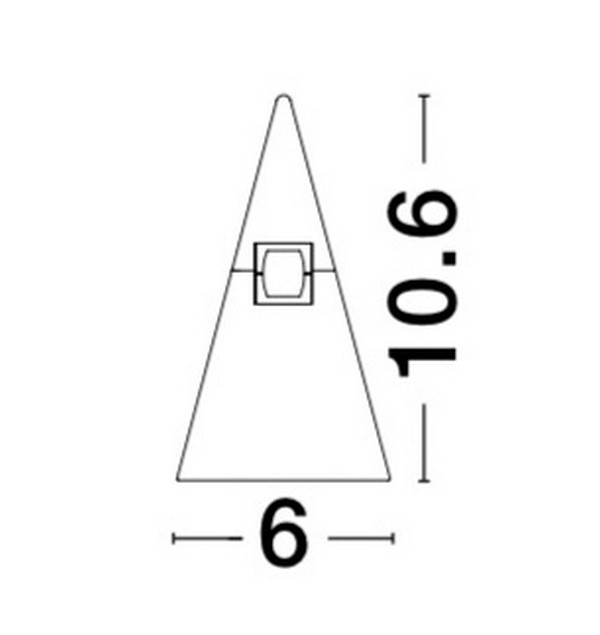Nova Luce NL-9090285 Decorative Cono sínrendszeres lámpafej