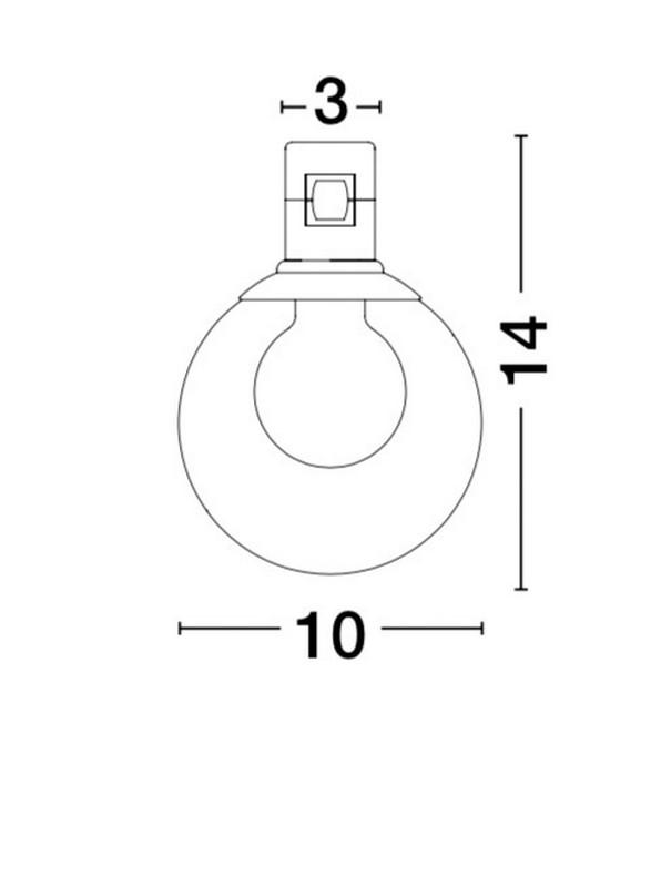Nova Luce NL-9090284 Decorative Minimal sínrendszeres lámpafej