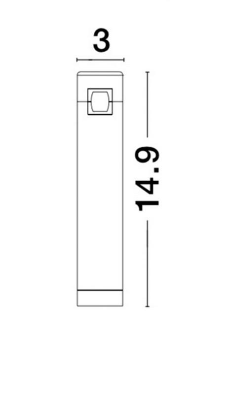 Nova Luce NL-9090281 Decorative Bar sínrendszeres lámpafej
