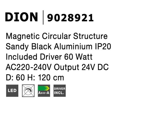 Nova Luce NL-9028921 Decorative Dion függesztett sínrendszer