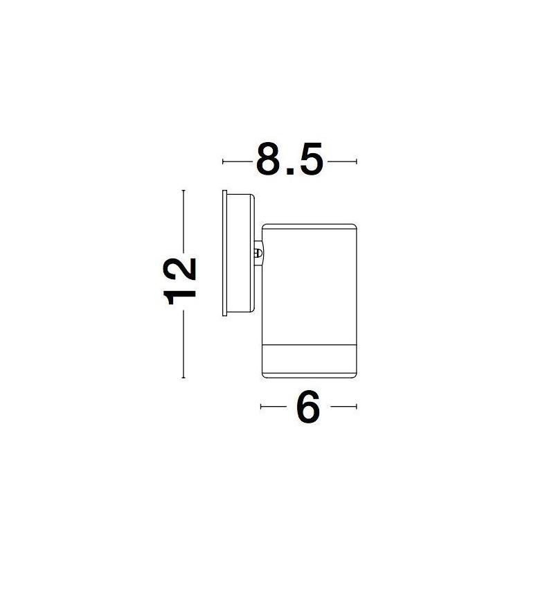 Nova Luce NL-9010602 Limbio kültéri fali lámpa