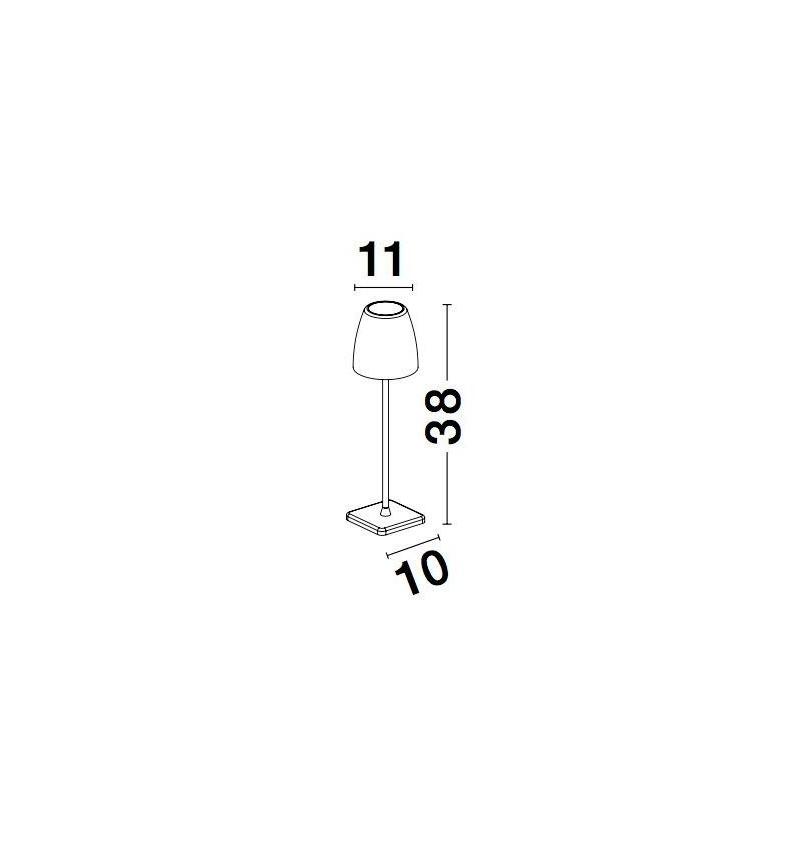Nova Luce NL-9121911 Colt kültéri LED hangulatvilágítás