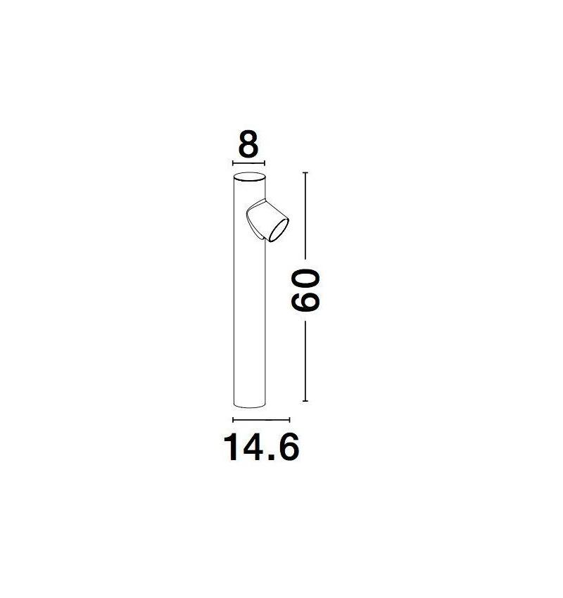 Nova Luce NL-9291702 Ramo kültéri állólámpa