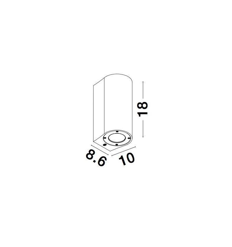 Nova Luce NL-9790521 Lido kültéri homlokzatvilágítás