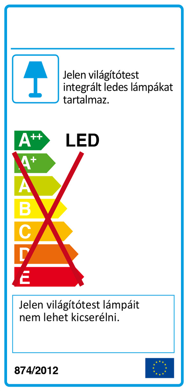 Redo 01-2108 CORRAL LED fali lámpa