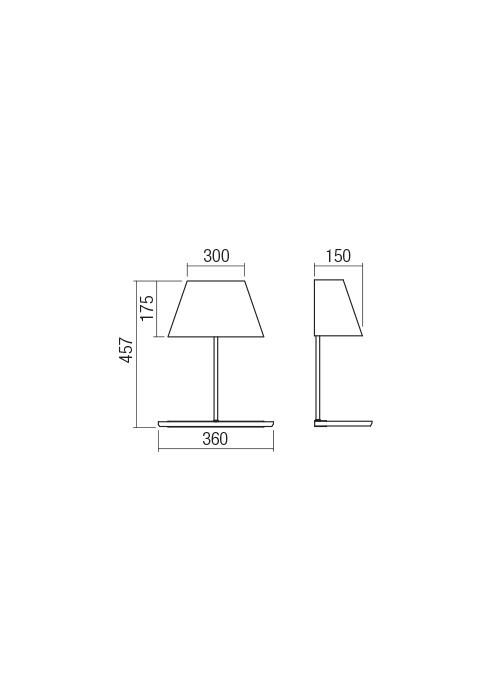Redo 01-1478 CULT fali polc lámpa