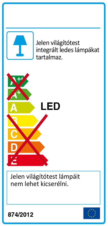 Redo 01-2037 MADISON LED fali lámpa