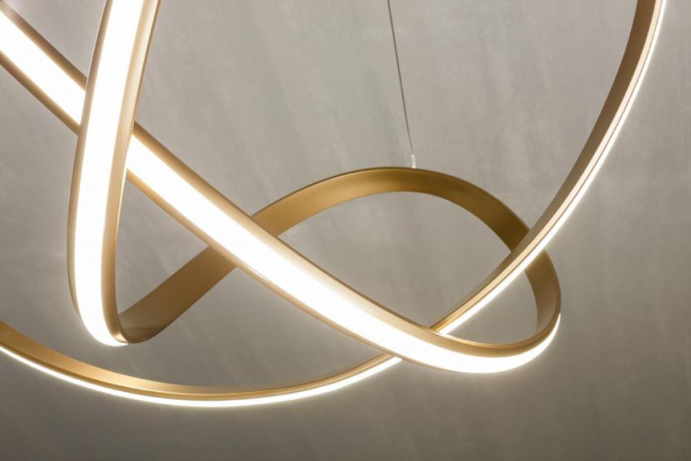 Redo 01-1879 NUCLEO LED lámpa függeszték