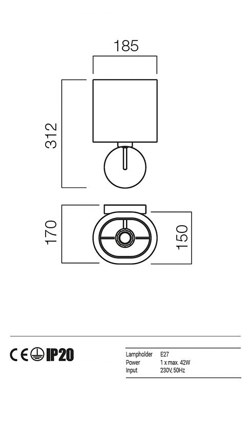 Redo 01-1150-SN-SCW-TR PICCADILLY falikar
