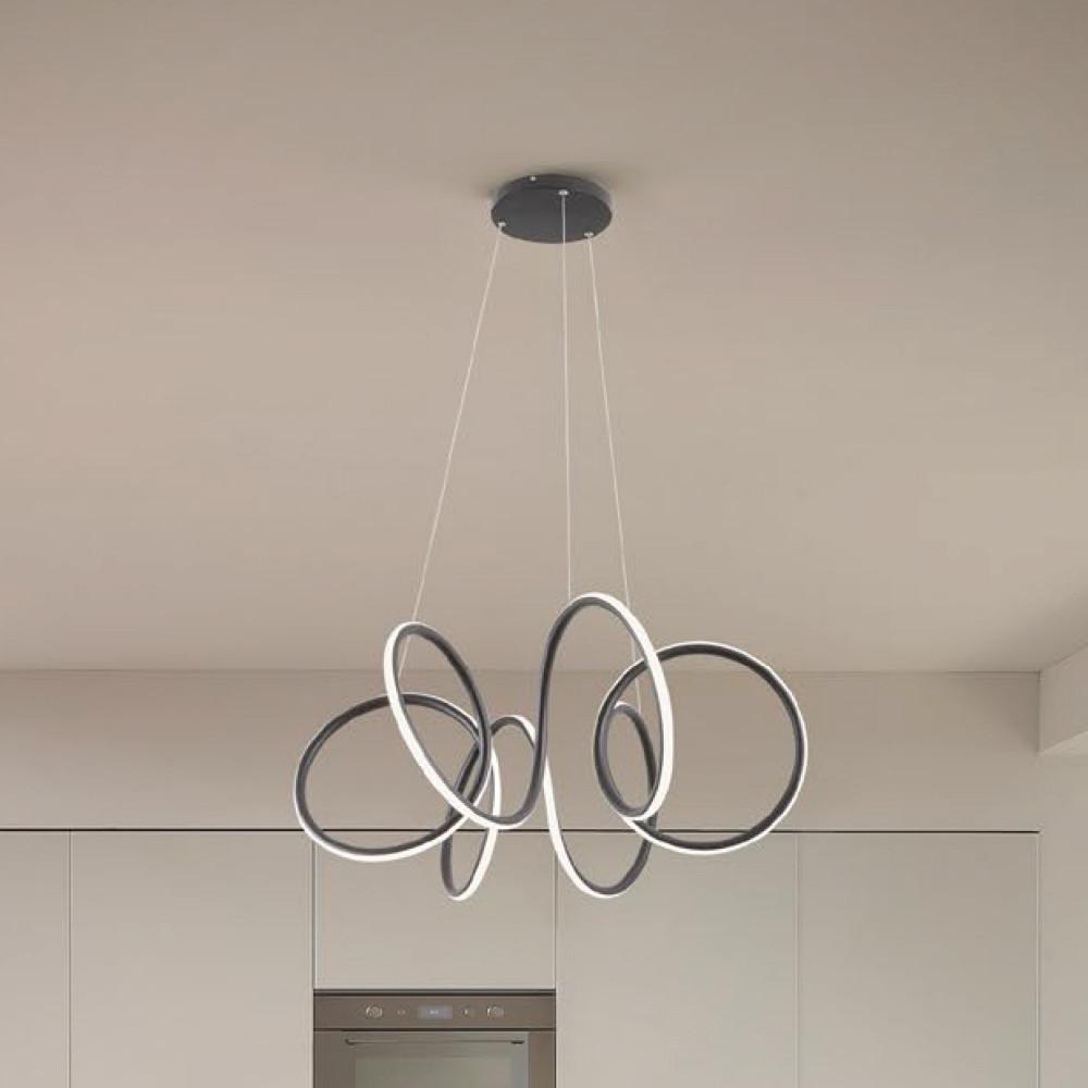 Redo 01-1854 VUELTA LED lámpa függeszték