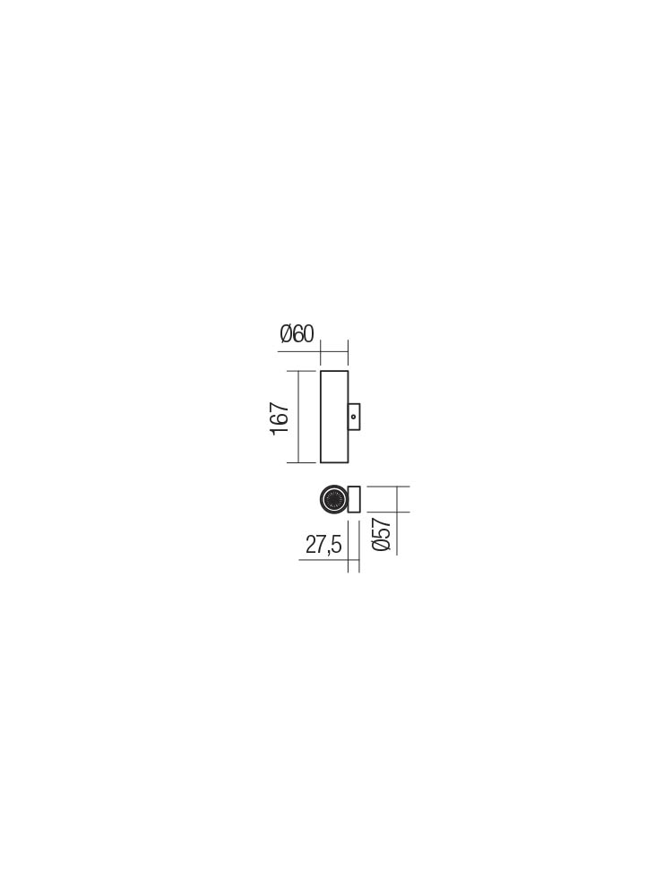 Smarter 01-2159 AXIS fali lámpa