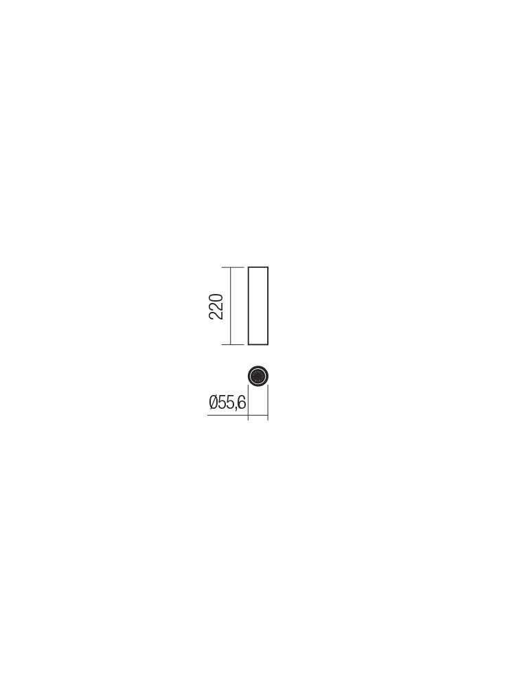 Smarter 01-2155 AXIS Mennyezeti lámpa